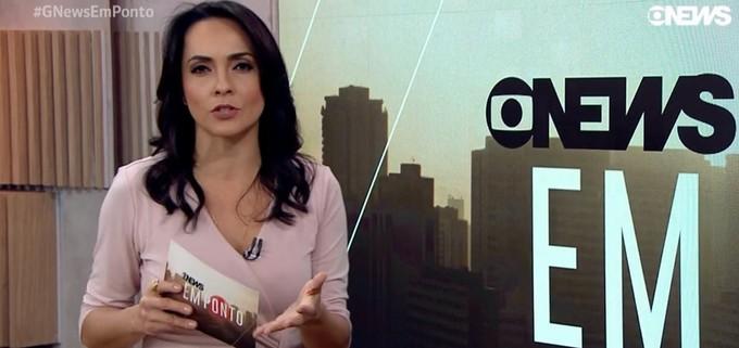 Izabella Camargo: afastamento médio por esgotamento profissional | Foto: Reprodução Globo.